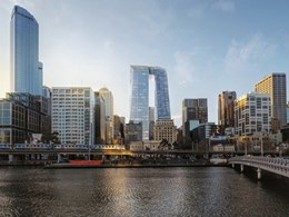New Melbourne skyscraper shows structural issues