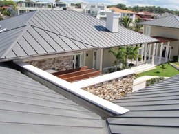 Aesthetics drive selection of ZC Technical's snap lock roofing panels for Paradise Waters Residence