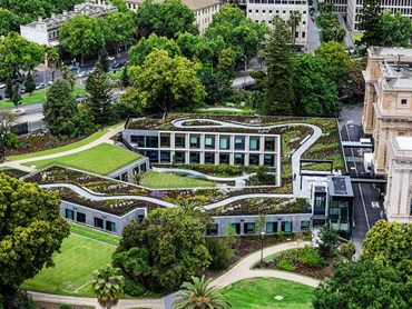 Parliament of Victoria Annex's Landscapes (Cultural Heritage category) Photo: Adam Gibson