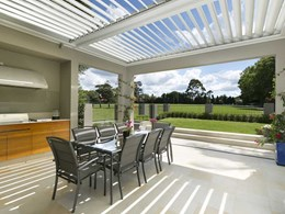 Harness the light and warmth of the autumn sun with a Vergola