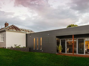 The Pavilion Home featuring Scyon Stria cladding