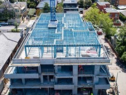 Steel framing solution saves time and cost for builder at Armadale VIC apartments