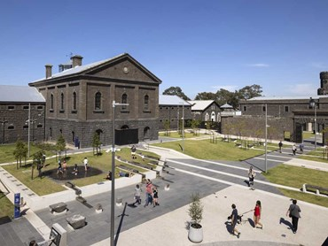 The Central Piazza at the former Pentridge Prison grounds