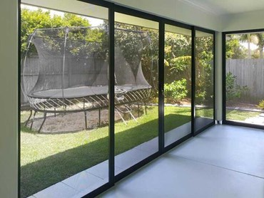 Invisi-Gard security screens allow light and fresh air