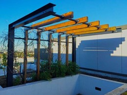 WiseWood's pergola extends outdoor living space for Sydney client
