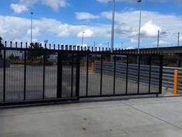 Magnetic's MTT Track gate provides perimeter security for airport service provider