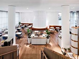 Bates Smart's challenging refurbishment of hotel restaurant