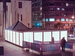 Plexiglas brings installation to life at 2018 Sydney Vivid Light Festival