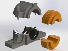 Cut To Size's engineered plastic split plummer blocks save time and maintenance costs