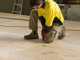 Ecoply Plyfloor plywood panels for structural and non-structural flooring