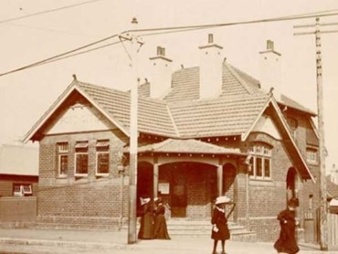 Post Office, Bondi, about 1900