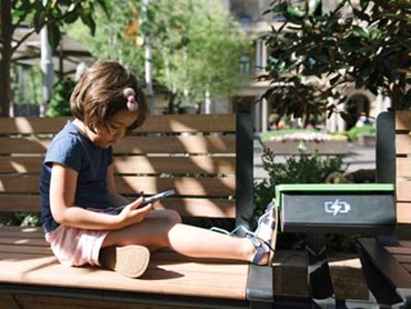 WiFi and smart benches with phone and laptop charging will feature in Woden Town Square