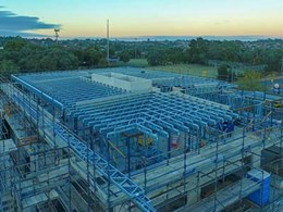 Light gauge steel framing streamlines Doncaster East VIC apartment project