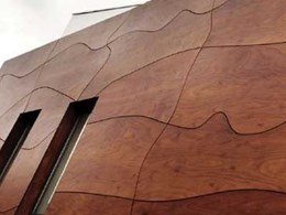 Prodema from SGI: 100% natural timber veneer with the advantages of composites