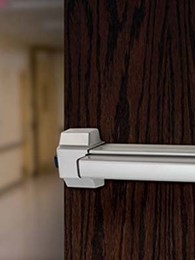 Quieter electric latch helping hospital patients with reduced noise