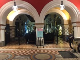 ATDC expandable barriers improving access control and security at Sydney's QVB shopping centre