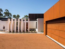 Hebel's design flexibility and fire resistance provide perfect base to WA bushland home