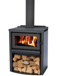 Add comfort, warmth and good looks to the room with a Masport R5000WS wood heater