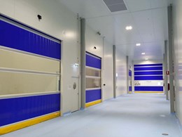 20 rapid roll doors installed at Sydney food processing facility