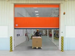 Rapid roll doors ensuring safety and energy efficiency for beverage wholesalers