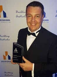 WA home builder is WoodSolutions National Young Master Builder of the Year