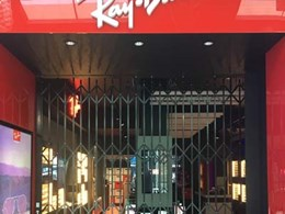 Rayban store in Melbourne secured with ATDC's shopfront closures