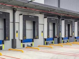 New Reckitt Benckiser DC in Oakdale features Safetech's climate controlled dock