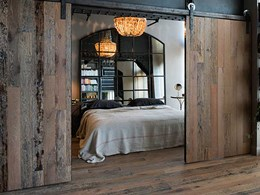The rustic charm of reclaimed timber in interior design