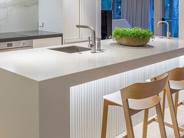 The Remuera house kitchen featuring a Zip HydroTap
