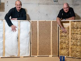 Universities test viability of waste materials as building insulation