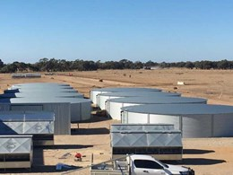 9 Rhino rural tanks meet water storage requirements at Deniliquin feedlot