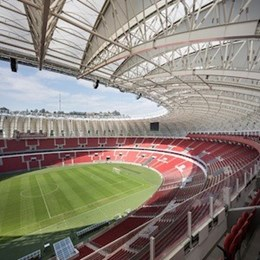 New lightweight roof added to Beira-Rio Stadium just in time for the World Cup