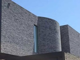 Petersen D91 bricks create dramatic facade on award-winning Melbourne home