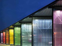 Rodeca's translucent building elements for windows, interiors and roofing