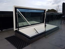 New Gorter roof hatches with triple glazing