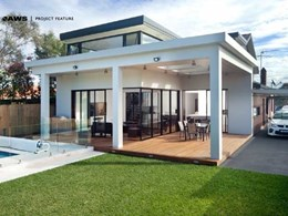 AWS doors and windows add modern touch to heritage home in Rosebery NSW