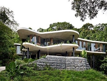The Planchonella House by Jesse Bennett Studio. Photo: Sean Fennessy