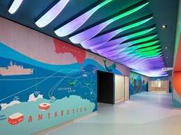 New Royal Hobart Hospital K Block goes on a magical journey to the Atlantic