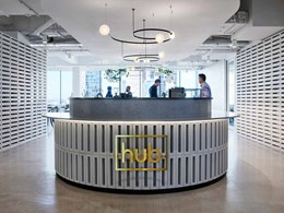 Bates Smart delivers new co-working workplace for Hub Australia