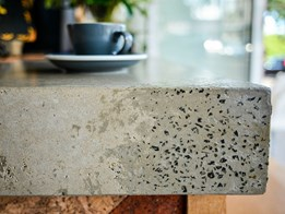 The attractions of concrete benchtops