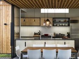 Award-winning Auckland home maximises space and privacy on narrow site