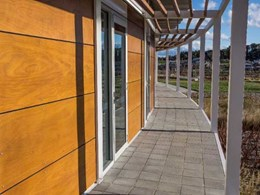 Prodema ProdEX facade welcomes visitors at Canberra's Crace community health centre
