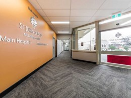 Hardwearing carpet planks freshen up Mt Lawley hospital interiors