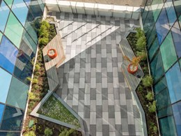 Hansen Yuncken specifies Anston paving for Berwick's St John of God Hospital