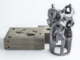 Producing certified structural nodes in metal using printed sand moulds