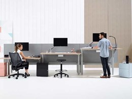 Schiavello's sit-stand workstation contributing to a healthier and happier workplace