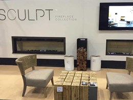 Sculpt heats up 2016 Melbourne HIA Homeshow with new luxury fireplace collection