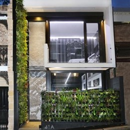 Forest Lodge ECO House by Chris Knierim, Code Green wins Single Dwelling (New) category at Sustainability Awards 2014