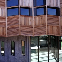 RMIT building by H20 Architects: the seed for timber's resurgence in large façade applications
