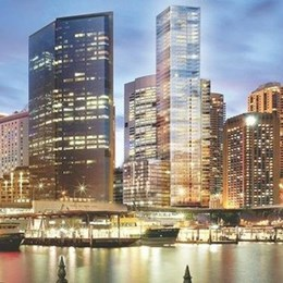 Who will be the architect of Sydney's most expensive new apartment at Circular Quay?